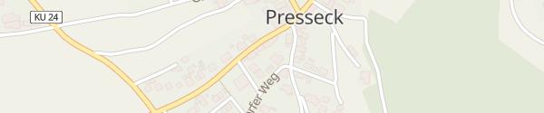 Karte Raiffeisenbank Presseck