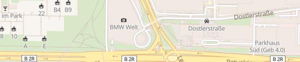 Karte CCS BMW Welt München