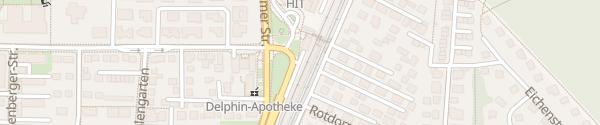 Karte S-Bahnhof Oberschleißheim