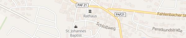 Karte Schloßweg Rohrbach