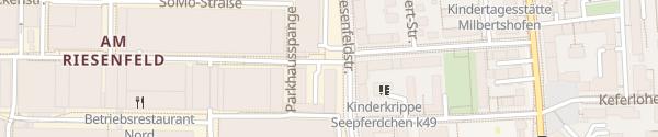 Karte BMW Tor München