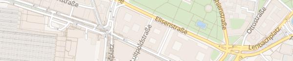 Karte Parkhaus Elisenhof Hauptbahnhof München
