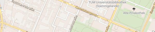 Karte Luisenstraße München