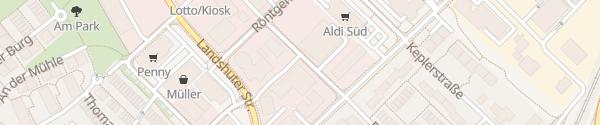 Karte Auto Kölbl Unterschleißheim