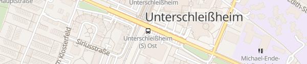 Karte P&R Parkplatz Robert-Schuman-Straße Unterschleißheim