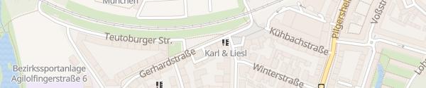 Karte Gerhardstraße München
