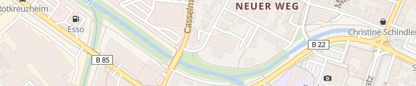 Karte AOK Bayreuth