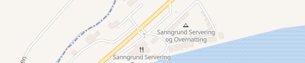 Karte Sanngrund Skarnes
