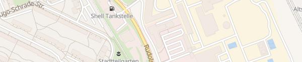 Karte Kundenzentrum Stadtwerke Jena