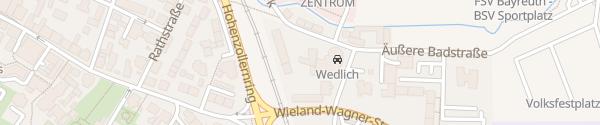 Karte Autohaus Wedlich Bayreuth