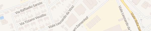 Karte Via Ludovico Lazzaro Zamenhof Vicenza