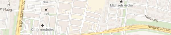 Karte Park & Charge München