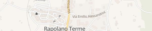 Karte Ladesäule Rapolano Terme