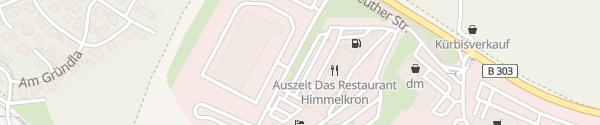Karte IONITY Euro Rastpark Himmelkron