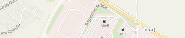 Karte Allego Euro Rastpark Himmelkron