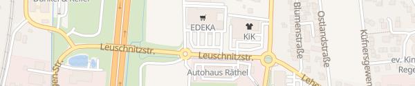 Karte EDEKA Schneider Bindlach