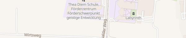 Karte Hachinger Tal Schule Unterhaching