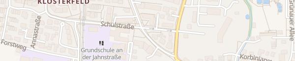 Karte Marxhofstraße Unterhaching