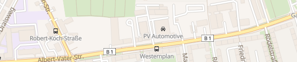 Karte Hyundai Autohaus Nordstadt Magdeburg