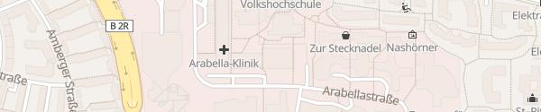 Karte Parkhaus Arabellapark München