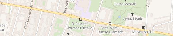 Karte Enel Drive Säule Ferrara