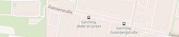 Karte BMW M GmbH Garching bei München