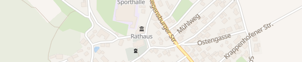 Karte Rathaus Seubersdorf in der Oberpfalz