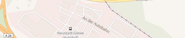Karte Mecklenburg Neustadt Glewe