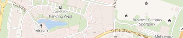 Karte BMW Innovationshaus Garching bei München