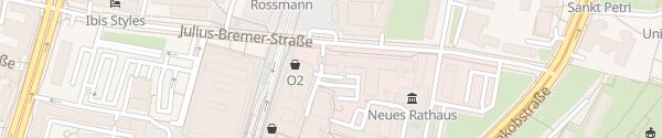 Karte Schwertfegergasse Magdeburg