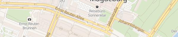 Karte Innenstadt Magdeburg