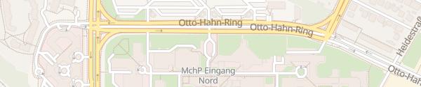 Karte Siemens München