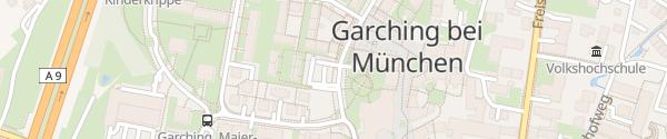 Karte Ladesäule Tiefgarage Rathaus Garching bei München