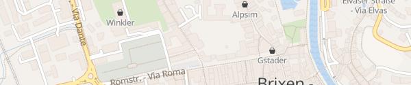 Karte Vitalhotel Goldene Krone Brixen