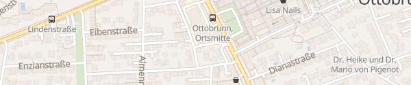 Karte Autohaus Simon Gruber Ottobrunn