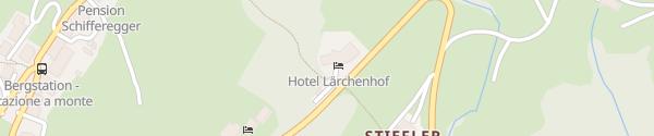Karte Hotel Lärchenhof Meransen