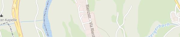Karte Schwer Präzision Rodeneck