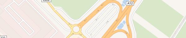 Karte LKW-Stellplatz A12 Vomp