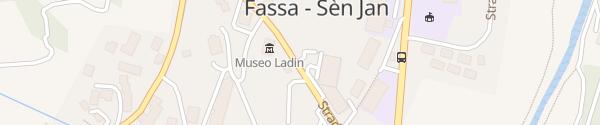 Karte Fassa Coop Pozza di Fassa