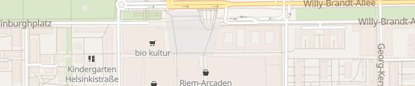 Karte Parkhaus Riem-Arcaden München