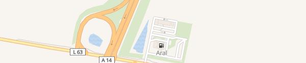Karte Autohof Brumby Staßfurt