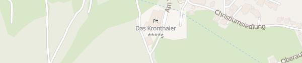 Karte Das Kronthaler Hotel Achenkirch