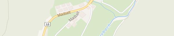 Karte Alpinhotel Berghaus Tux