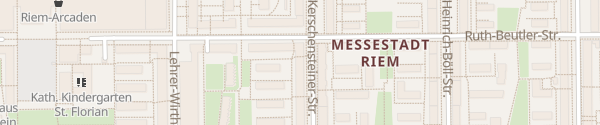 Karte Messestadt Riem München