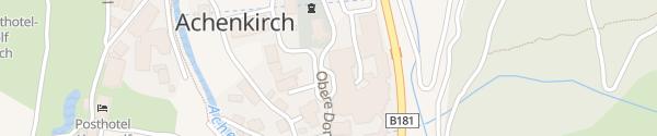 Karte Posthotel Achenkirch