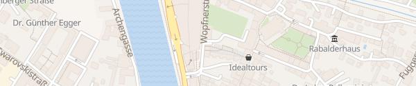 Karte Stadtgarage Schwaz