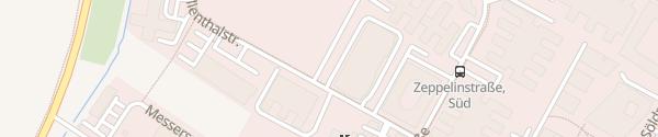 Karte Lilienthalstraße Hallbergmoos