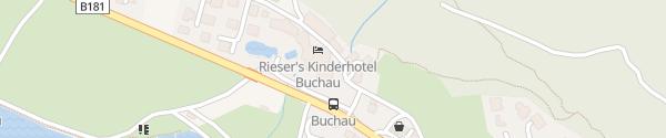 Karte Kinderhotel Buchau Eben am Achensee