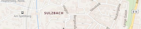 Karte Luitpoldplatz Sulzbach-Rosenberg