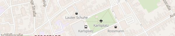 Karte Tiefgarage Karlsplatz Bernburg